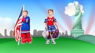 Crianças Volta ao Mundo - Estados Unidos - Patati Patatá (DVD Volta ao Mundo)