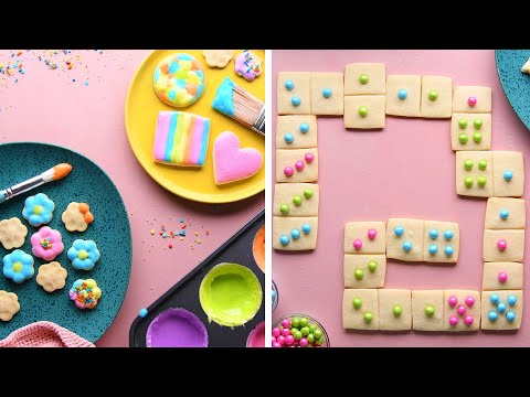 6 Colorful Baking Projects For Kids!! So Yummy