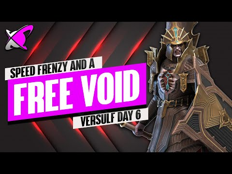 SPENDING ALL MY SAVED ENERGY FOR THIS!! | Versulf Fusion Day 6 | BGE's Guides | RAID: Shadow Legends