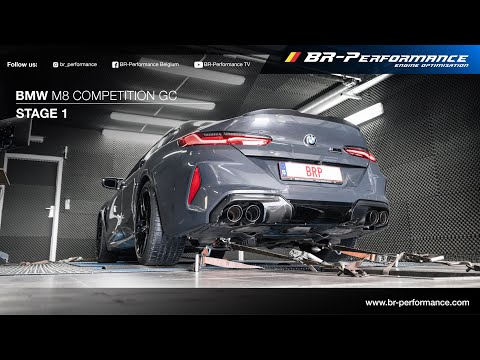 BMW M8 Competition Gran Coupe  / Stage 1 By BR-Performance / +1000NM!