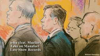 Manafort's Courtroom Sketch As a-ha's 'Take On Me'