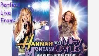 Nobody's Perfect - Hannah Montana [LIVE VERSION]