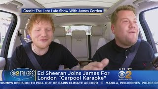 "Ed Sheeran Joins James Corden For London ""Carpool Karaoke"""