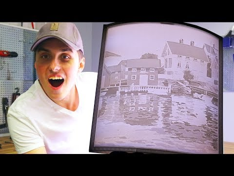 This Was 3D Printed?! - MASSIVE Lithophane