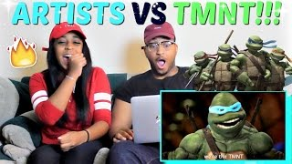 "Epic Rap Battles of History Season 3 Finale ""Artists vs TMNT"" REACTION!!!"