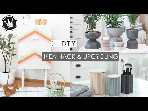 3 DIY IDEEN | IKEA HACK  & UPCYCLING | Kommode | Blumentöpfe | Aufbewahrungsbehälter DekoideenReich