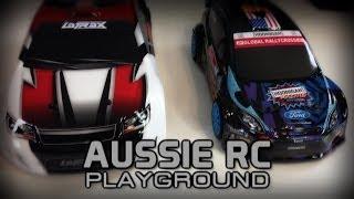 Double Review: Ken Block HPI Micro RS4 vs LaTrax Rally - 1/18 Scale Showdown