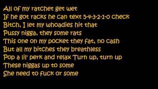 Young Thug - Drown feat Travis Scott (Lyrics)