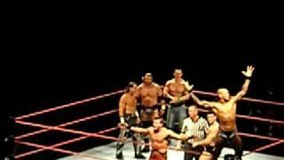 raw live john cena y dx   vs  randy orton y el legado