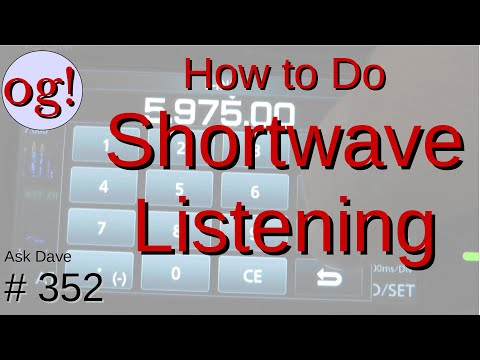 Learn About Shortwave Listening (SWL) for Beginners (#352)