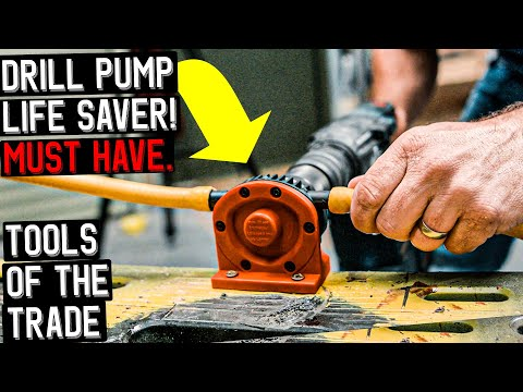 DRILL PUMP LIFE SAVER MUST HAVE TOOL - TOOLS OF THE TRADE