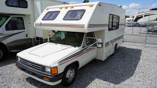 SOLD! 2001 Xplorer 230 XLW Widebody Class B Camper Van, Dually Rear
