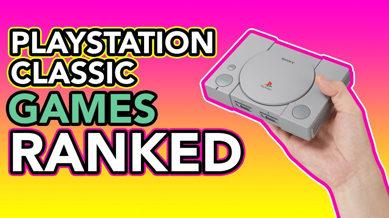 PlayStation Classic Games, Ranked