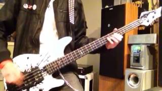 Shinedown enemies bass guitar cover with tabs