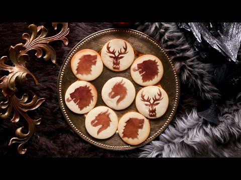 Game Of Thrones Stencil Cookies ? Tasty