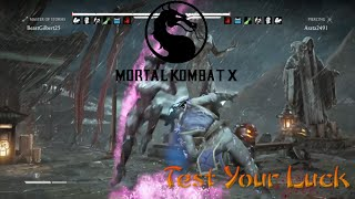 "Mortal Kombat X - ""How Bad Can You Get"" Test Your Luck"