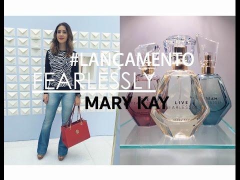 Lançamento Fragrância Fearlessly Mary Kay