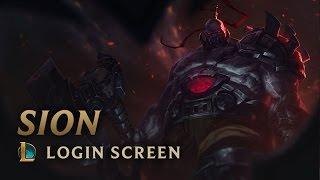 Sion, The Undead Juggernaut | Login Screen - League of Legends