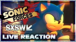 Sonic Forces Gameplay LIVE REACTION