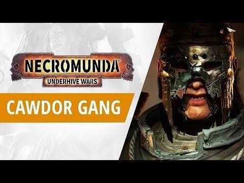 Necromunda: Underhive Wars   Cawdor Gang Trailer