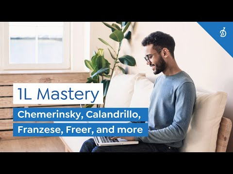 1L Mastery Package: Own your most critical year in law school.
