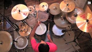POLO - VAGALUMES -(Drum Cover) ThiagoDrumon365