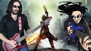 "Dragon Age: Inquisition Theme ""Epic Rock"" Cover (Little V)"
