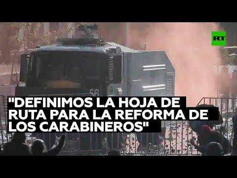 Ministro del Interior de Chile: «Definimos la hoja de ruta para la reforma de los Carabineros»