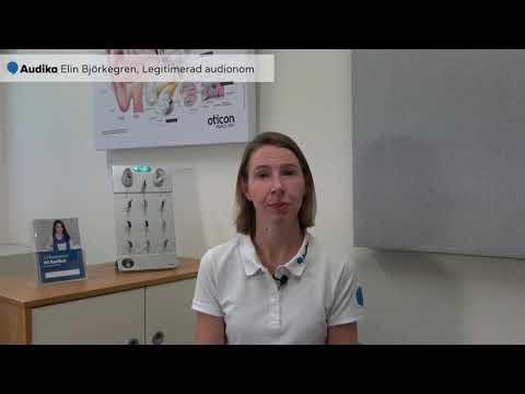 Extra trygg hörselvård hos Audika - möt Elin, en av våra legitimerade audionomer