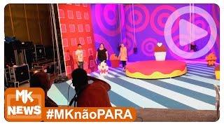 Aline Barros - Montagem do Cenário - DVD Aline Barros e Cia Tim-Tim por Tim-Tim (#MKnãoPARA)