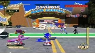 Sonic Riders: Sega Carnival remix