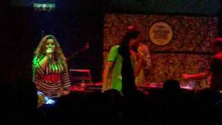 BOB THE RAGE SENSE -  CHORA COMIGO - MUSICBOX 5 NOV 2009 (1)