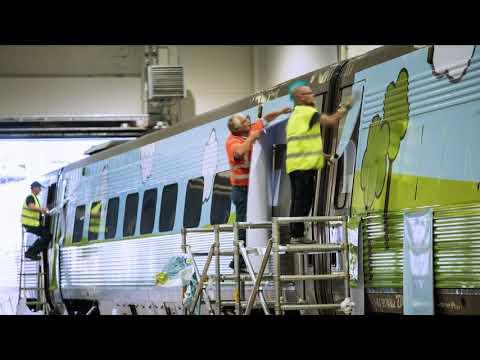 SPP-tåget på väg mot en bättre framtid.