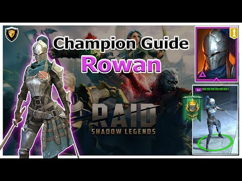 RAID Shadow Legends | Champion Guide | Rowan