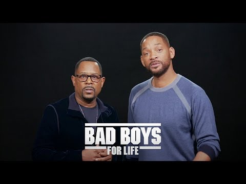 Will Smith y Martin Lawrence protagonizan BAD BOYS FOR LIFE