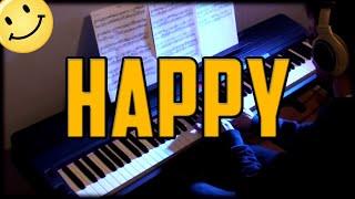 Pharrell Williams - Happy on Piano   Rhaeide