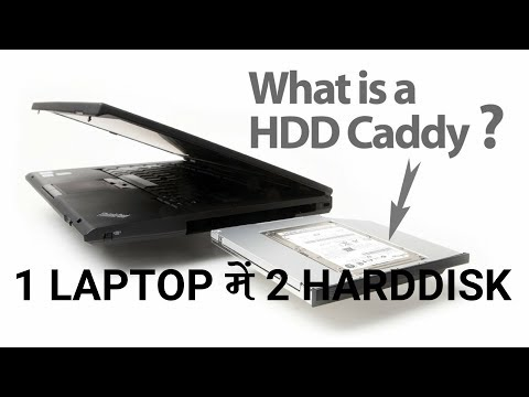 Download thumbnail for 2 HardDisks in 1 Laptop, How to install Caddy