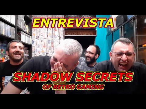 DIRECTO EN TWITCH ENTREVISTA A LOS POLEMICOS SHADOW SECRETS OF RETROGAMING