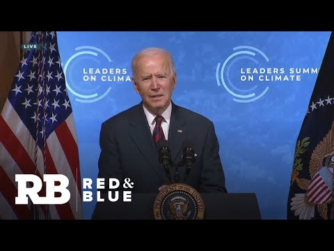 Biden pledges to cut U.S. emissions in half by 2030