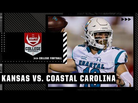 Kansas Jayhawks vs. Coastal Carolina Chanticleers   Full Game Highlights