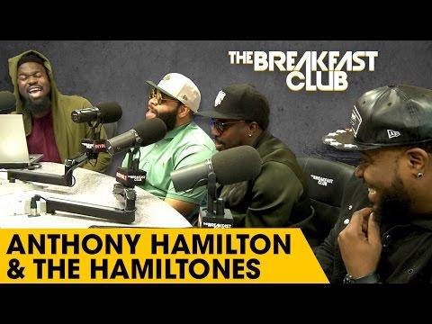 Anthony Hamilton & The Hamiltones Harmonize With The Breakfast Club