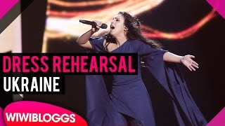 "Ukraine: Jamala ""1944"" grand final dress rehearsal @ Eurovision 2016 