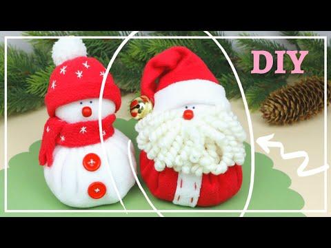 Самый милый Дед Мороз cвоими руками / SUPER CUTE SANTA — DIY tutorial / NataliDoma