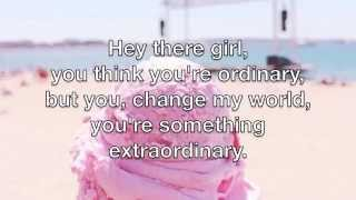 No Ordinary Girl by Kalin and Myles (Lyrics)