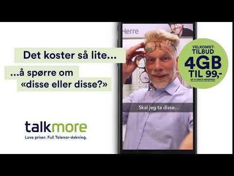 Talkmore   Briller