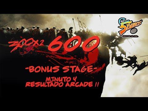 DIRECTO: BONUS STAGE 600 (300x2) - MINUTO Y RESULTADO ARCADE II