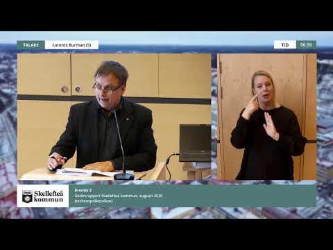 Kommunfullmäktige, 2020-10-20