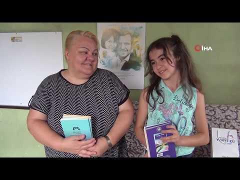 11 Yaşındaki Fatma, Pahalı Olduğu İçin Alamadığı Kitaplarına Kavuştu