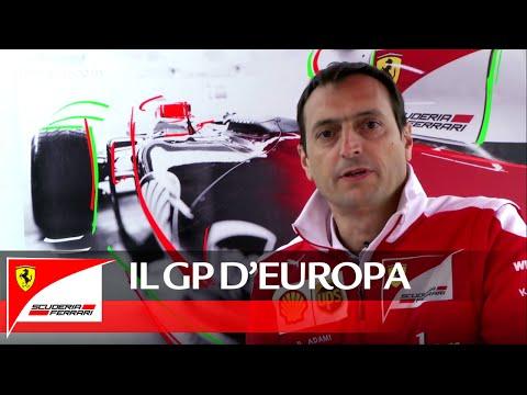 Il GP di Europa con Riccardo Adami - Scuderia Ferrari 2016