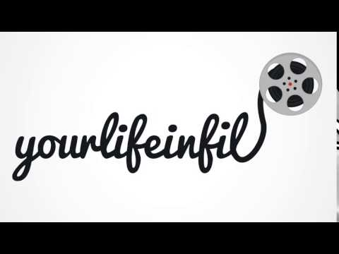 Your Life in Film - Animated Logo